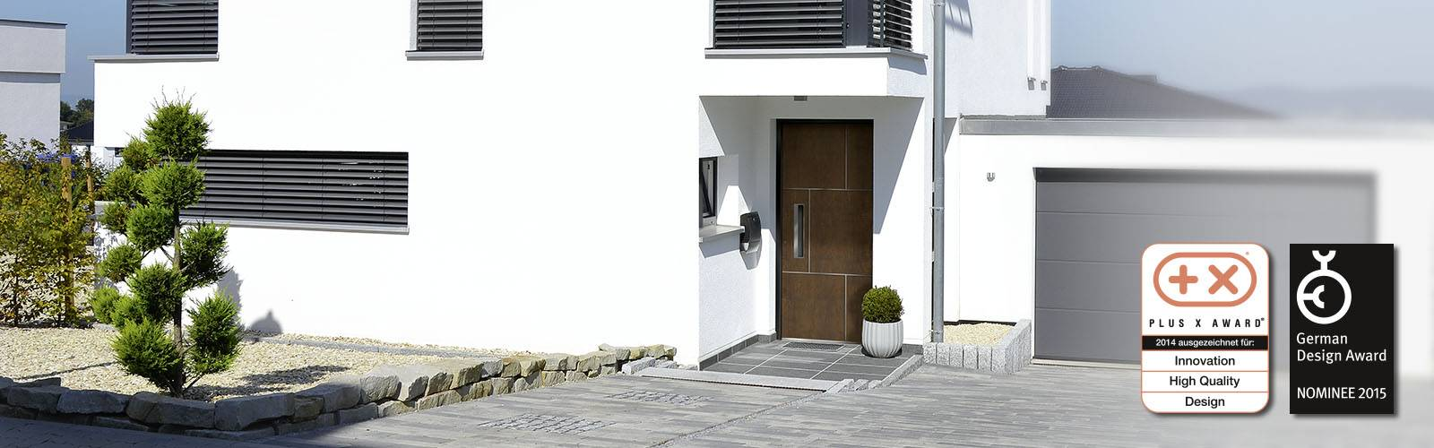 Exclusive entrance doors der RODENBERG Türsysteme AG