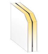 Querschnitt-Skizze einer unverglasten Haustür der Widerstandsklasse RC3